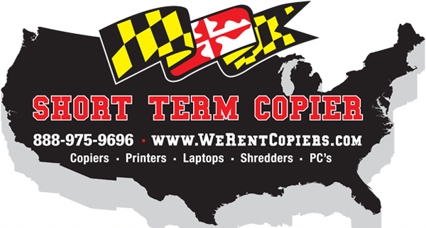 short term copier rental logo